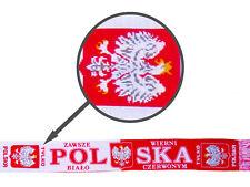 """Polska Scarf National Patriotic Scarve """" Zawsze Wierni Bialo Czerwonym """""""