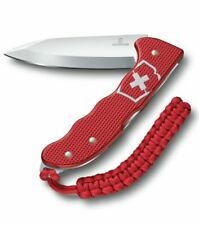 Victorinox Hunter Pro Alox Rood Folding Knife with Lanyard - Red