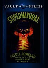 Supernatural 1933 (DVD) Carole Lombard, Randolph Scott, Vivienne Osborne - New!