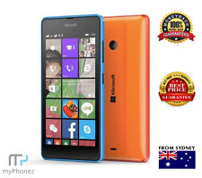 "New Microsoft Lumia 540 Dual Sim Black 5"" 8GB Quad Core 8MP Windows Unlocked OZ"