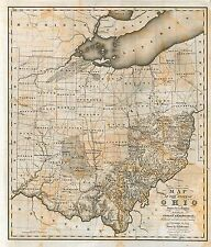 Ohio state 224 maps old Panoramic genealogy History Birds Eye atlas Dvd