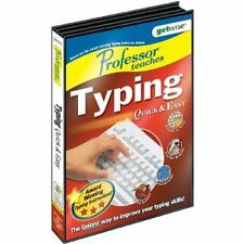 Professor Teaches Typing Quick & Easy Tutor Course NEW