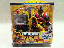 Rescue Heroes Voice Tech Video Mission Rocky Canyon Factory Sealed!