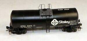 InterMountain #47804-23 19,600 Gallon Tank Car Staley #4373 1/87 HO Scale