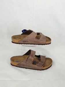 BIRKENSTOCK Arizona Men's Size 9 Tabacco Brown Leather Sandal Shoes Women's 11