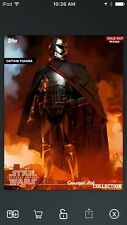 Topps Star Wars Digital Card Trader FA Captain Phasma Concept Art Insert