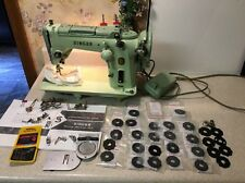 SINGER ZIG ZAG SEWING MACHINE 319W W/ 30 CAMS JADEITE GREEN Manual Accessories
