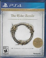The Elder Scrolls Online Tamriel Unlimited PS4 Sony PlayStation 4 BrandNewSealed