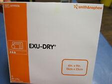 """SMITH & NEPHEW  EXU-DRY  6"""" X 9"""" FULL ABSORBANT WOUND DRESSING #5999006 - QTY.12"""