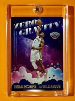 Zion Williamson ZERO GRAVITY SPECIAL INSERT 2ND YEAR NBA HOOPS PELICANS - Mint!