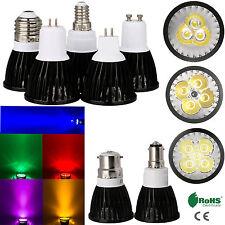 10x 9W 12W 15W E27 GU10 B22 MR16 B15 Cree LED Downlight Spotlight Bulbs 85-265V