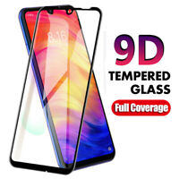 For Xiaomi Redmi Note 7 9D Curved Full Cover Tempered Glass Screen Protector 2h
