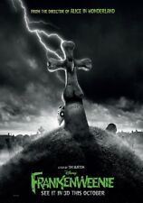 FRANKENWEENIE MOVIE POSTER 2 Sided ORIGINAL 27x40 TIM BURTON