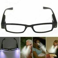 Unisex Reading Eye Glasses With LED Light +1.00 +1.50 +2.00 +3.00 Eyeglasses New