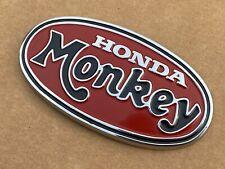 """NOS Genuine Honda Tank Oval """"MONKEY"""" Badge Z50A K2 (87121-045-690)"""