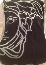 VERSACE MEDUSA BEACH TOWEL BATH POOL YOGA GYM LARGE ITALY AUTHENTIC