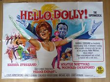 HELLO DOLLY  (1969) - original UK quad film/movie poster, Barbra Streisand