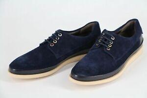 HUGO BOSS Orange Shoes, Model Safello, Size 43 / US 10, Dark Blue