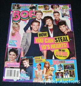 BOP Magazine May 2013 One Direction Justin Bieber Selena Harry Liam Niall Zayn
