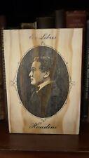 Rustic Pine Sign Houdini Ex Libris book plate