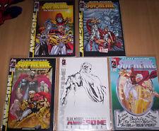 SUPREME (deutsch) # 1+VARIANT+2+3 KOMPLETT - ALAN MOORE - GENERATION COMICS 2000