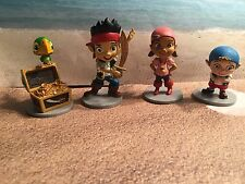 DISNEY JAKE & THE NEVERLAND PIRATES CAKE TOPPER PLAY DISPLAY FIGURES