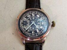 EXACT Zodiak silver Swiss vintage men's mechanical wristwatch