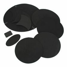 10Pcs/lot Bass Snare Drum Sound Off Mute Silencer Drumming Rubber Practice Pad S