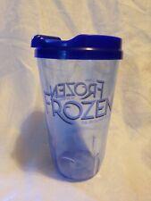 Frozen Broadway Musical Reusable Plastic Souvenir Travel Sippy Cup & Lid Tumbler