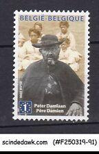 BELGIUM - 2009 CANONIZATION OF FATHER DAMIEN SG#4281 1V MNH