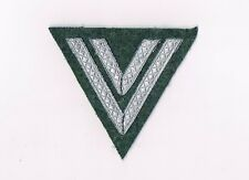 Wehrmacht Rangabzeichen Obergefreiter Winkel Chevron WH Feldgrau
