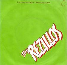 THE REZILLOS I Can't Stand My Baby Vinyl Record 7 Inch Sensible FAB 1 1977 1st