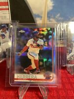 2019 Topps Chrome Refractor Parallel #103 Odubel Herrera Philadelphia Phillies🔥