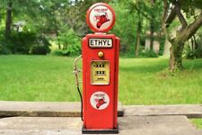 Handmade Tin Texaco Fire Chief Gas Pump Model Bank - Tinplate - Metal - Gasoline