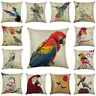 18'' New Colour Bird Pillowcases Living Room Throw Cushion Cases Cushion Cover