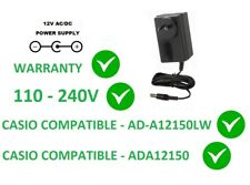12V AC DC POWER SUPPLY ADAPTER FOR CASIO CTK-7000 AD-A12150LW A-12150 110-240V