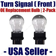 Front Turn Signal/Blinker Light Bulb 2pk - Fits Listed Buick Vehicles - 3057