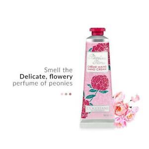 L'Occitane Pivoine Flora Hand Cream Protect & Soften With Shea Butter 30ml New