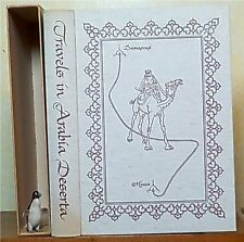 Travels in Arabia Deserta by Charles M. Doughty Heritage Press