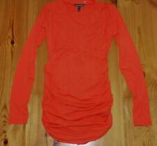 Isabella Oliver Apricot Red Maternity Long Sleeve Top M Medium 2 UK 10 / US 6