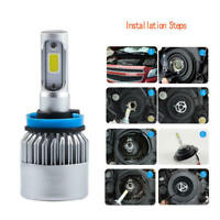 H1/H3/H7/H8/H9/H11 Canbus Adaper LED Headlight Kit Bulb Lamp 100W AKY