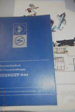 Reparaturhandbuch für Personenkraftwagen Trabant 601°°1974 Zwickau DDR + Pläne