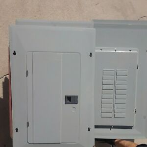 Eaton 16-space and 20-space electrical panel cover only