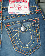 *HOT! 100% AUTHENTIC Men's TRUE RELIGION @ BILLY SUPER T - BOOTCUT Jeans 27 x 29
