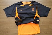 Netherlands Holland 100% Authentic PI Soccer Football Jersey S 2002 Away [3090]