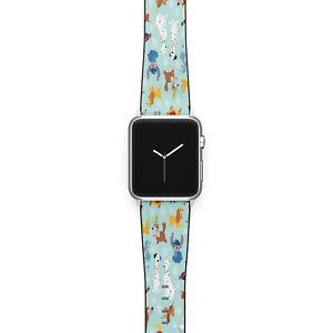 Disney dogs Apple Watch Band Series SE 6 5 4 3 Stitch iWatch strap 40 44 38 42