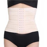 HN- Postpartum Belt Belly Wrap Band Body Shaper Support Recovery Girdle After Bi