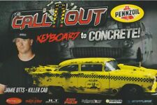 "2018 Jamie Otts ""Killer Cab"" '55 Chevy SEMA The Callout Street Outlaws postcard"