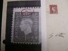 Britain WW2 Judaica Star of David Propaganda Forgery Stamp German