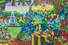 .PUZZLE.JIGSAW....WERNERSBACH...Twilight Romance Garden......750pc